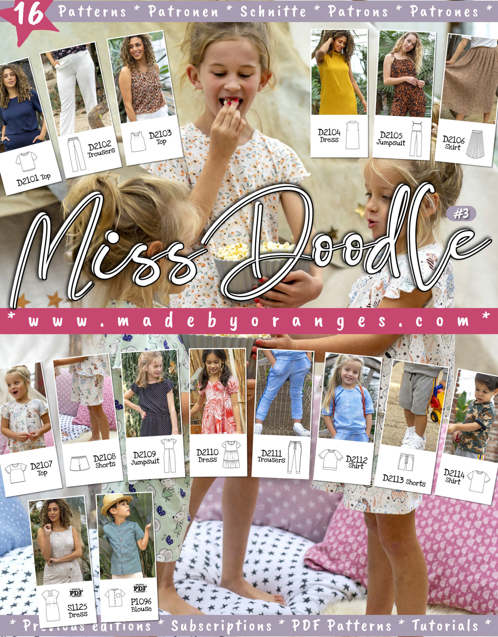 Miss Doodle Miss Doodle magazine - editie nummer 3