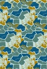 Poppy Soft Sweat Jurassic World deep sea blue