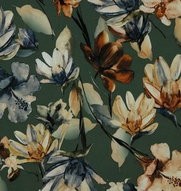 Poppy Soft Skin Magnolia Stretch donker olijf