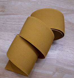 Sierelastiek -zeer sterk- geel 5cm