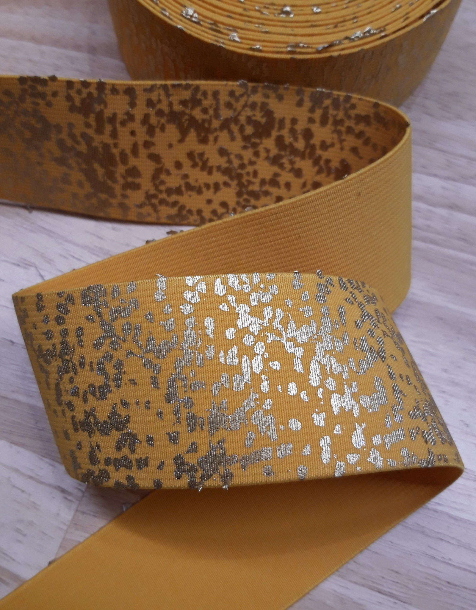 Lotte Martens ELASTIC BAND MUSE YELLOW