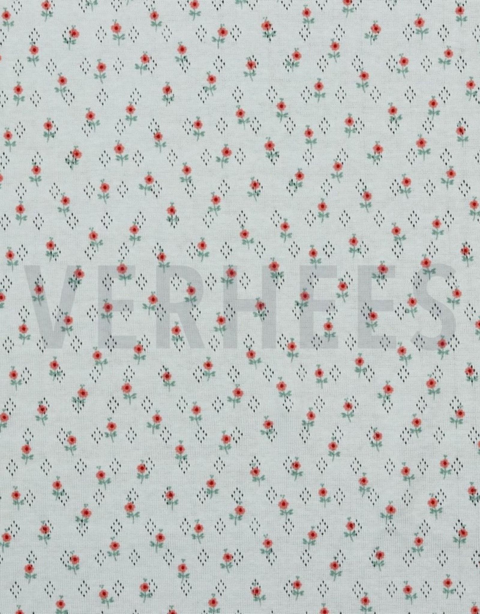 Poppy Pointoille Sweet Flowers wit
