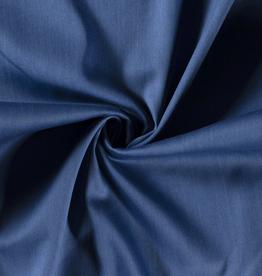 Stretch 4way denim blauw