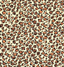 Chiffon flock luipaardvlekjes *BTrendy