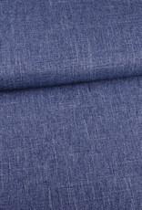 Structure linnenlook blauw mélange