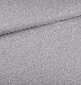 Soepel tricot mélange grijs