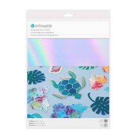 silhouette Silhouette holografisch sticker papier