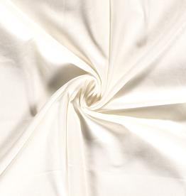 Viscose linnen wit effen