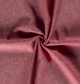 Viscose linnen rood mélange