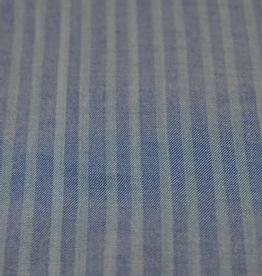 La Maison Victor Lyocell vertikaal gestreept jeans  - LMV