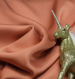 A La Ville Haute Couture Viscose satintouch zacht perzik