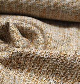 A La Ville Haute Couture Coupon 55x140 Geweven chanel jacquard oker
