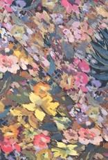 Fibre Mood COUPON FM Viscose crepe digital flowers *Marion 230x140cm