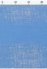 Rico Design Musselin azuur metallic foil print