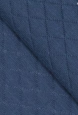 Fibre Mood FM quilted sweatshirt diamond dark denim *Debra