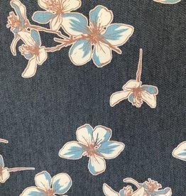 Toptex Bedrukte jeans floral