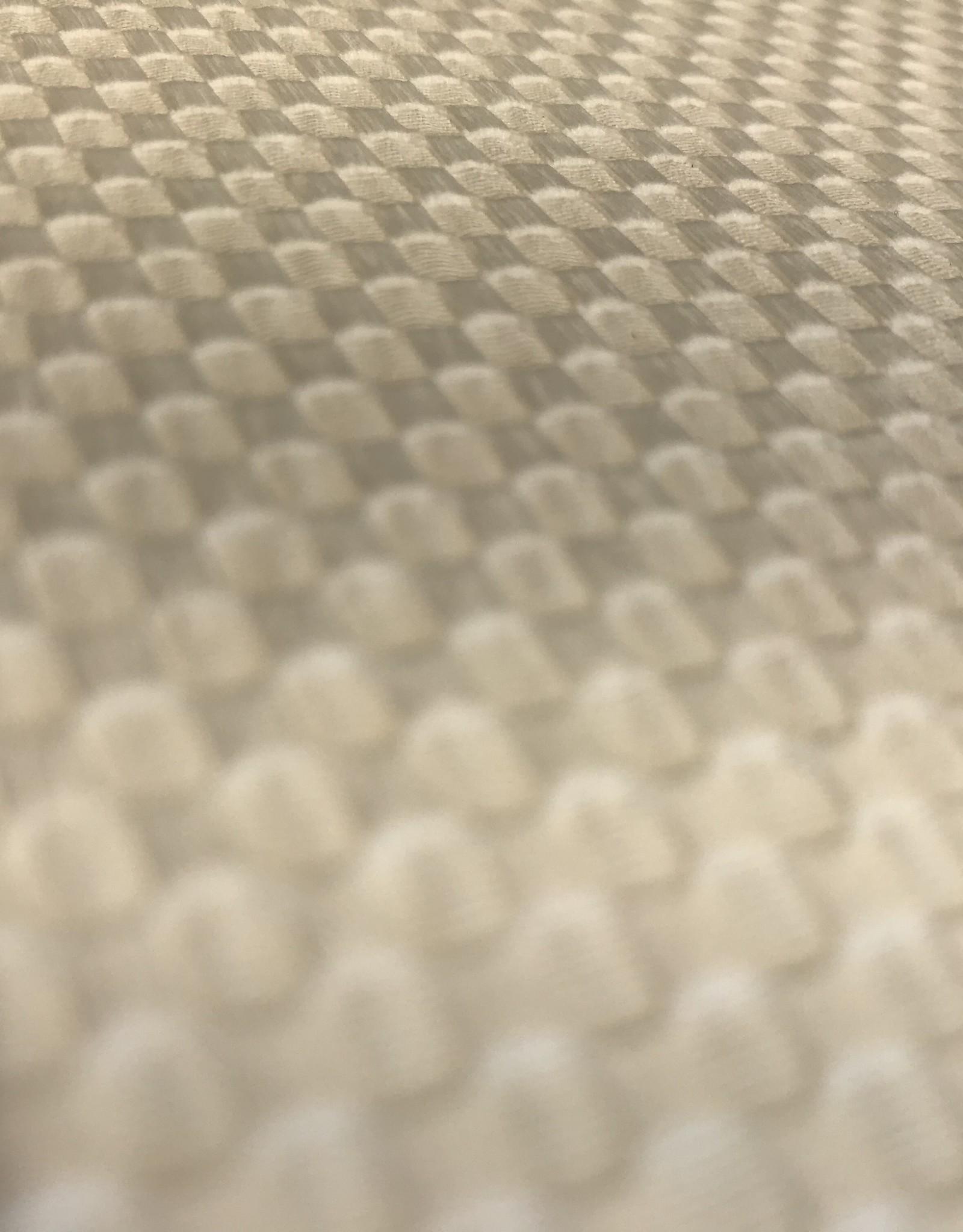 Toptex grof piquékatoen gebroken wit