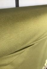 Viscosejersey uni olijf