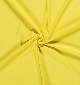 Viscosejersey uni fel geel