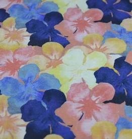 La Maison Victor Viscose linnen kleurrijk gebloemd - LMV