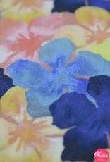 La Maison Victor Viscose linnen kleurrijk gebloemd - LMV Wizzy rok