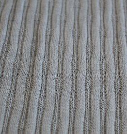 Tricot breisel verticale lijnen lichtblauw