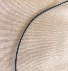 Hoedenelastiek 1.2mm rond navy blauw