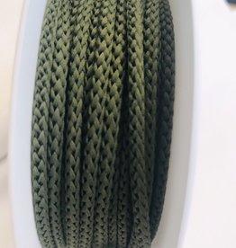 Anorakkoord licht elastisch 4.5mm kaki