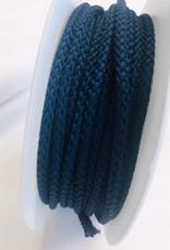 Anorakkoord licht elastisch 4.5mm marine blauw