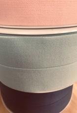Voorgevouwen elastiek 30mm mint