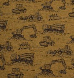 Hilco Bouwwerktuigen oker tricot