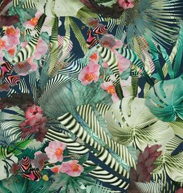 Hilco Coupon Hypnotic orchidee viscosetricot 50x150cm