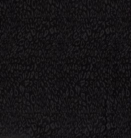 Leopard luipaard print zwart