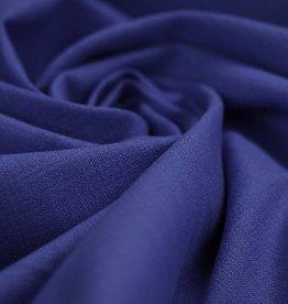 Stretch Linnen kobalt blauw