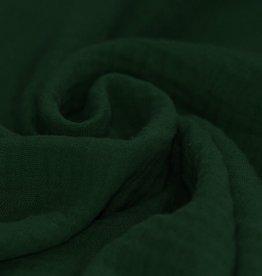 Double Gauze donker groen