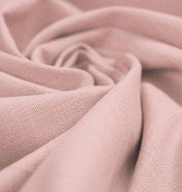 Stretch Linnen oud roze