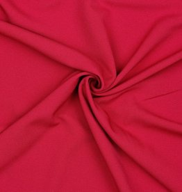 Poppy Marocain stretch crepe fuchsia
