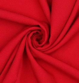 Poppy Marocain stretch crepe rood