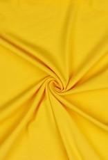 Uni tricot GOTS geel