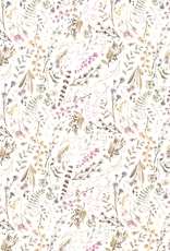 Digitale tricot nature print pastel