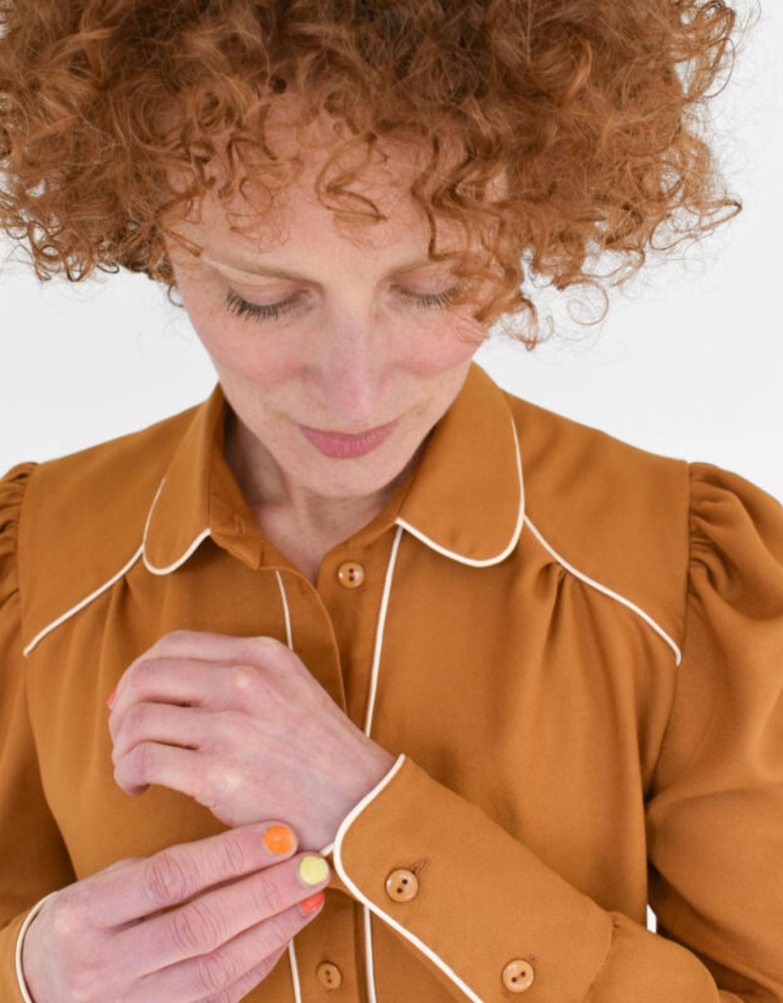 Bel'Etoile Harriete Blouse voor dames - Bel'Etoile & Sew it Curly