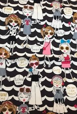Kira Kira Girls canvas