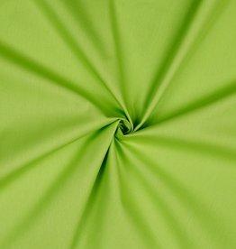 Uni katoen donker Lime