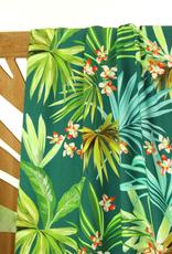 Tropische palmbladeren viscose - Atelier Jupe