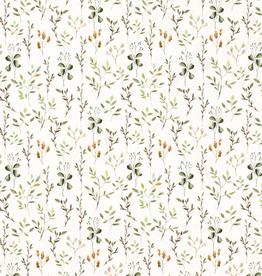 Digitale tricot groene takjesprint