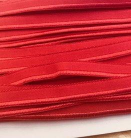 Elastische paspel rood