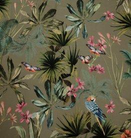 Hilco Coupon Birdy Hibiscus viscose 80x150cm