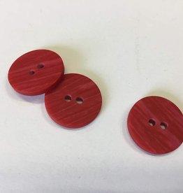 Knoop plat gradé rood 15mm