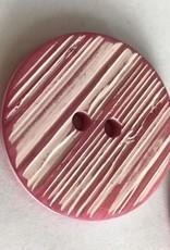 Knoop kriskras roos 34mm