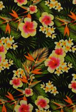 Lycra Hawai Tropic Flowers